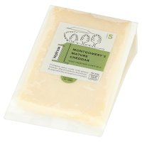 Waitrose 1 montgomery's mature cheddar cheese, strength 5.