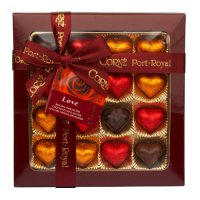CPR heart chocolates selection