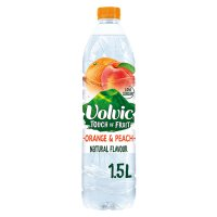 Volvic touch of orange & peach
