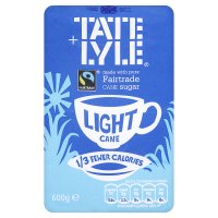 Tate & Lyle, fairtrade light sugar