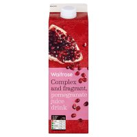 Waitrose pomegranate juice drink