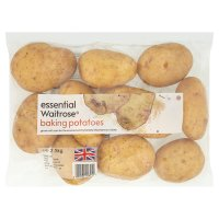 essential Waitrose Baking Potatoes