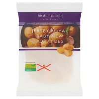 Waitrose baby Jersey Royal potatoes