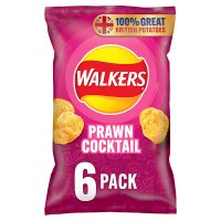 Image of Walkers prawn cocktail multipack crisps