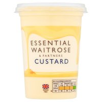 essential Waitrose fresh custard