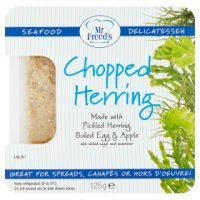 Mr Freed's chopped herring salad