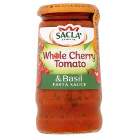 Sacla' whole cherry tomato & basil pasta sauce