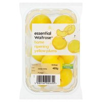 essential Waitrose Home Ripening Yellow Plums
