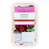Waitrose sweet and juicy cherries