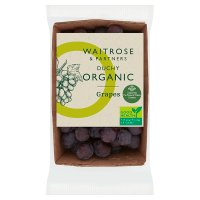Waitrose Organic grapes limited selection