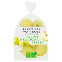 essential Waitrose Golden Delicious apples