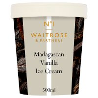 Waitrose Seriously Madagascan vanilla ice cream