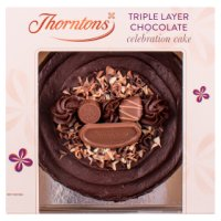 Thorntons chocolate cake