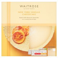 Waitrose New York cheesecake