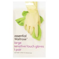 essential Waitrose sensitive gloves large