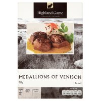 Highland Game medallions of venison