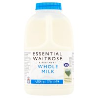Waitrose Scottish select farm whole milk