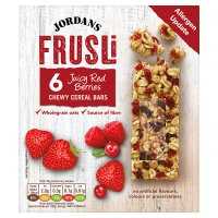 Jordans frusli bars red berries