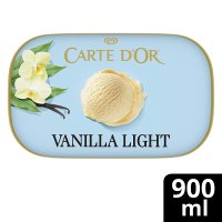 Carte D'Or vanilla light frozen dessert