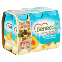 Benecol peach & apricot yogurt drink