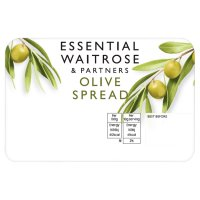 essential Waitrose olive spread