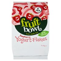 Fruit Bowl Raspberry Flakes with Yogurt Coating 5 pack