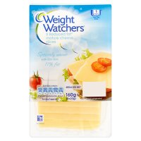 Weight Watchers reduced fat sliced mature cheese