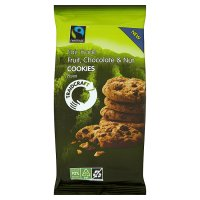Traidcraft Fairtrade chocolate & nut cookies