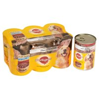 Pedigree can selection gravy with liver