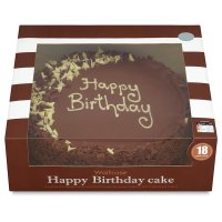 Waitrose Dairy Free Birthday Cake