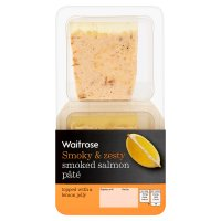 Waitrose smoked salmon pâté