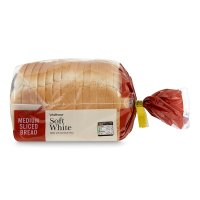 Waitrose soft white medium sliced bread