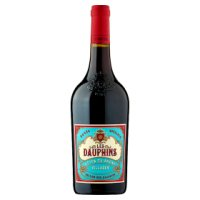 Les Dauphins Cotes du Rhone Village French Red Wine