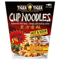 Tiger Tiger chinese style cup noodles