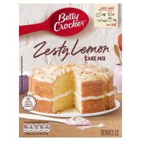 Betty Crocker sunny lemon cake mix