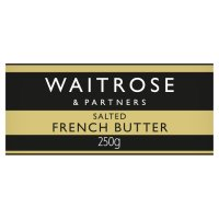 Waitrose Brittany butter with sea salt crystals image