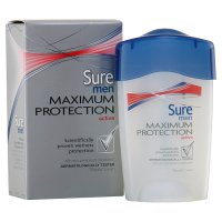 Sure Men Maximum Protection active cream anti-perspirant deodorant
