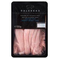 Dalehead wafer thin honey roast ham
