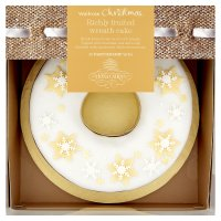 Waitrose Christmas wreath fruit cake