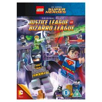 DVD LEGO DC Justice League vs. Bizarro League