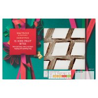 Waitrose Christmas iced fruit cake bites