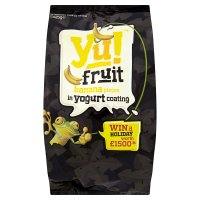 Yu! banana pieces in yogurt