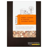 Waitrose 1 Honey, Cashew & Toasted Coconut Muesli