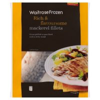 Waitrose frozen scottish mackerel fillets