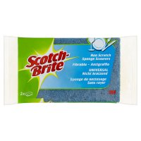 Scotch-Brite scourer non scratch sponges (pack of 2)
