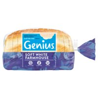 Genius gluten free soft brown sandwich loaf