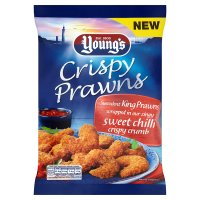 Young's Crispy Prawns Sweet Chilli Crumb