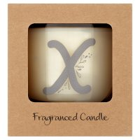 Waitrose Alphabet X Coconut & Sandalwood Candle
