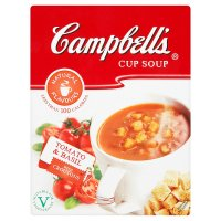 Campbell's tomato & basil cup soup