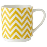 Waitrose Oker Chevron Stacking Mug